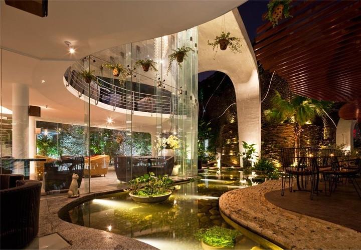 thiết kế nội thất cho quán cafe